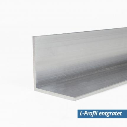 Alu L Profil Winkel 20x20x2 mm entgratet