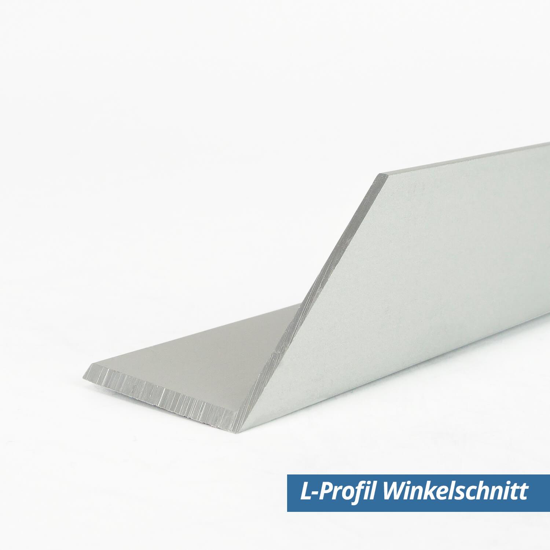 Effector silber 2 Meter Bastler Winkel Eckleiste Alu eloxiert B11