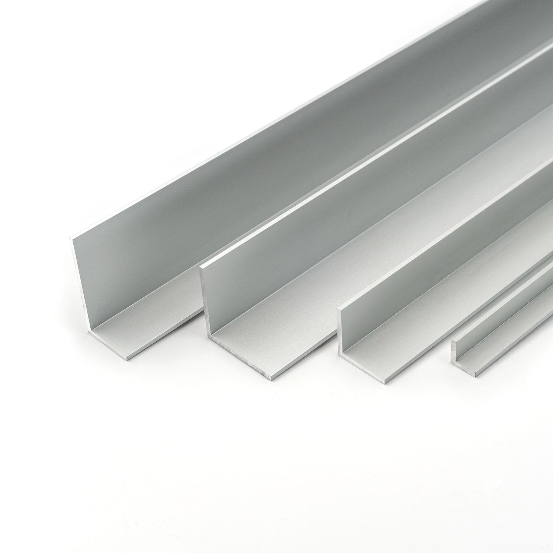 1 m 1 km aluminium L profil 50 x 50 x 4 mm 50x50mm