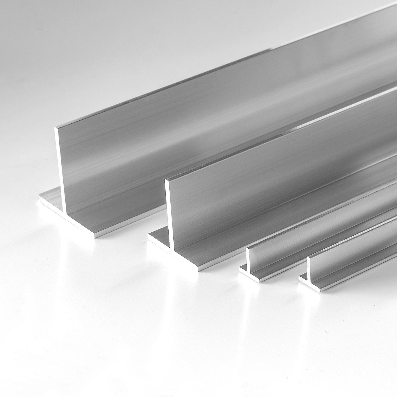 U-Profil aus Aluminium 2-fach gekantet, Oberfläche