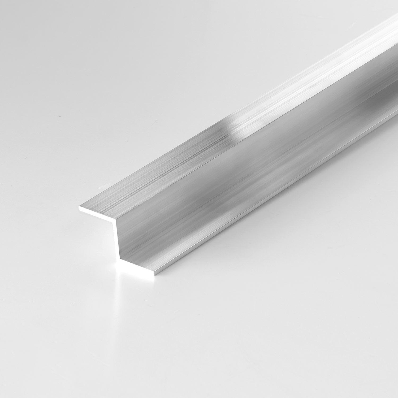 z profil aus aluminium 20x20x20mm in 2mm st rke. Black Bedroom Furniture Sets. Home Design Ideas