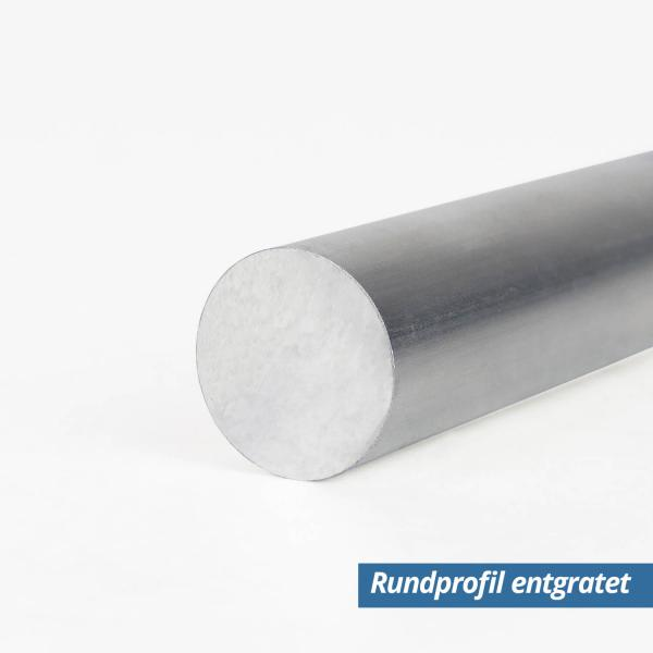 Alu Stange Vollmaterial 50mm entfratet